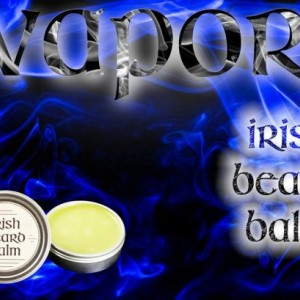 Irish beard balm Vapors 2 ounce tin