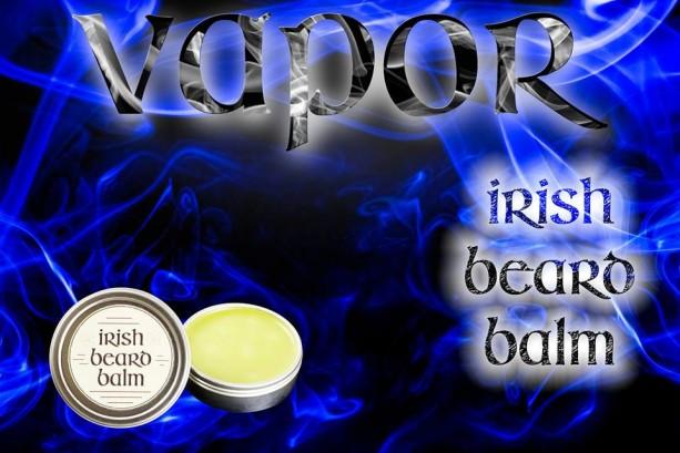 Irish beard balm Vapors 2 ounce tin