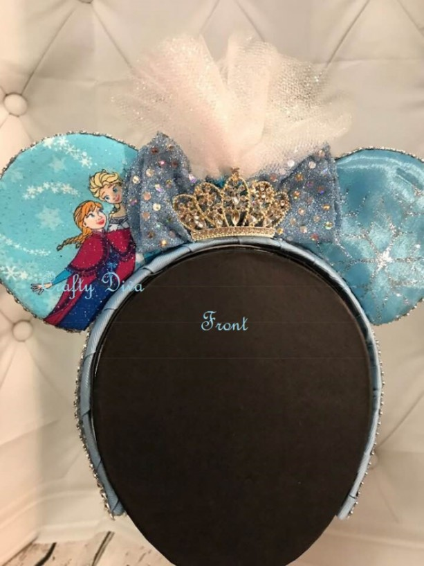 Princess Elsa Minnie Mouse Hand Headband