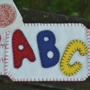 ABC Mug Rug for Teacher