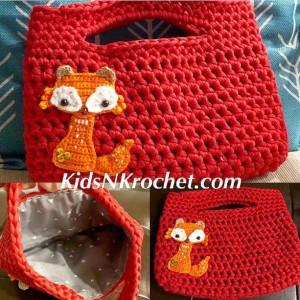 Ready to ship / Fox purse / fox bag