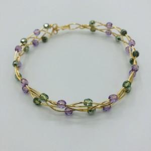 Gold Celtic Weave Bracelet