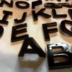 ALPHABET set,laser cut letters,holographic charms,abc,