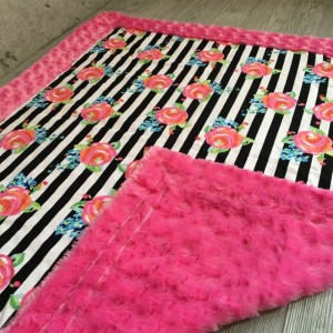Minky Baby Blanket ShipsNow Minky for Baby Childrens Toddler & Minky Pillow