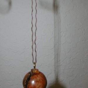 Ornament Pine Burl  #10