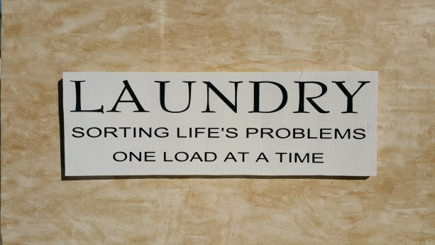 handmade wooden sign, wooden sign, laundry room sign, home decor, laundry room decoration
