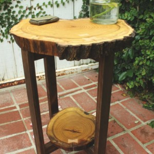 Nightstand, Side Table, Accent Table, End Table, Table, Bedside Table, Rustic Table, Vintage Table, Wooden Table, Wood Slab Table