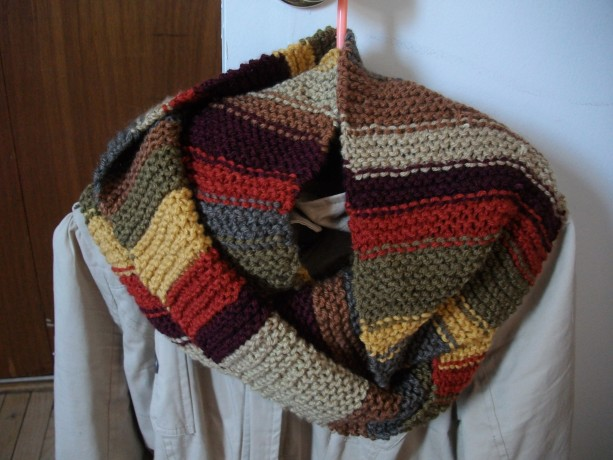 Tom Baker Inspired Infinity Scarves
