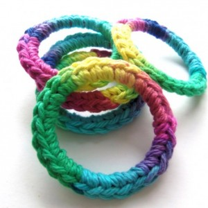Cat Ferret Toys Toy Recycled Rings Handmade Michigan Blue Green Yellow Pink Purple