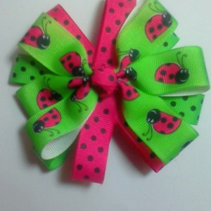 Boutique style girls baby toddler child hairbow