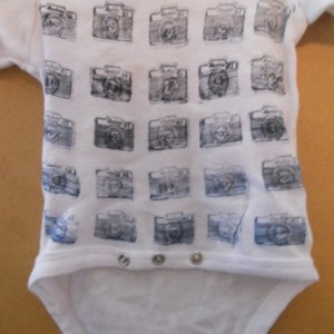 Vintage Camera Print T-Shirt & Onesies (Kid Sizes)