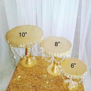 3 set  Wood Cupcake Stands