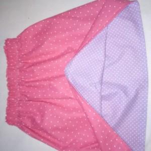 Polka Dot Reversible Skirt