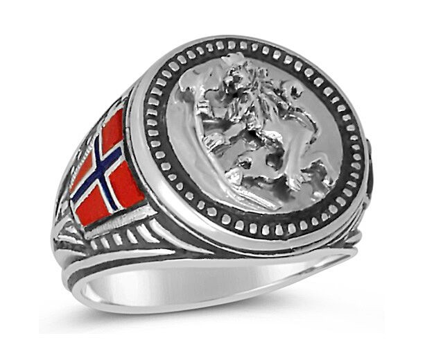 NORWEIGEN Lion ring sterling silver