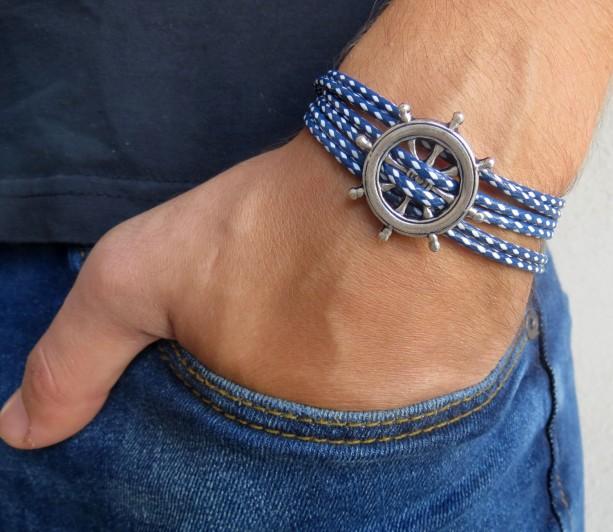 Men's Bracelet - Men's Vegan Bracelet - Men's Jewelry - Men's Gift - Boyfirend Gift - Husband Gift - Gift For Dad - Present For Men - Male