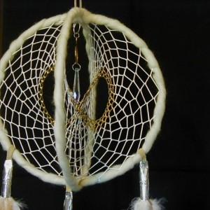 Glow in the Dark Large Double Dreamcatcher