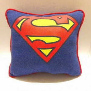 Superman T-shirt pillow