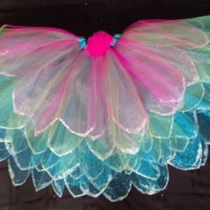 Girls Fairy Princess Skirt