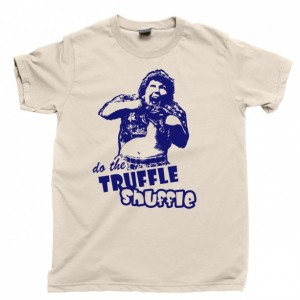 The Goonies Men's T Shirt, Chunk Truffle Shuffle The Goon Docks Astoria Unisex Cotton Tee Shirt