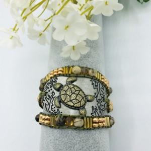 Calming Triple Wrap Bracelet