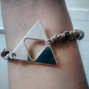 Legend of Zelda inspired hemp bracelet