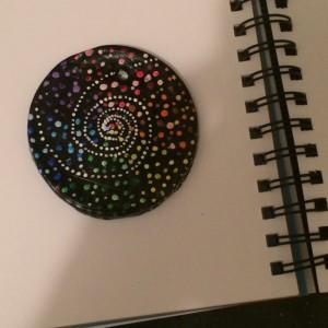 Handmade Spiral Ornament