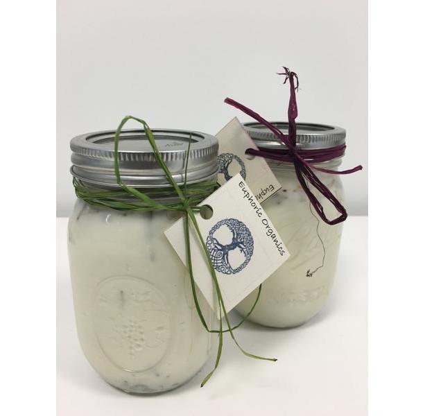 Organic Lemongrass Soy Candle