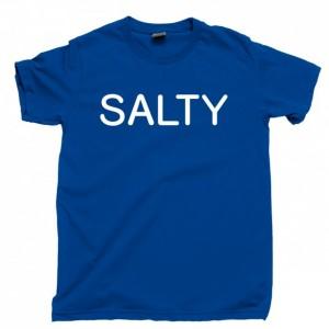 Salty Men's T Shirt, Lick Me I'm Extra Salty Unisex Cotton Tee Shirt