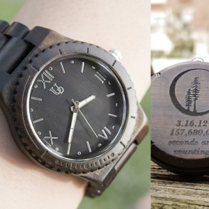 Anniversary Gift Ideas: UD Dark Wooden Watch, Boyfriend Gift, Husband Gift, Groomsmen Gifts, Gift for dad, Valentine's gift for him