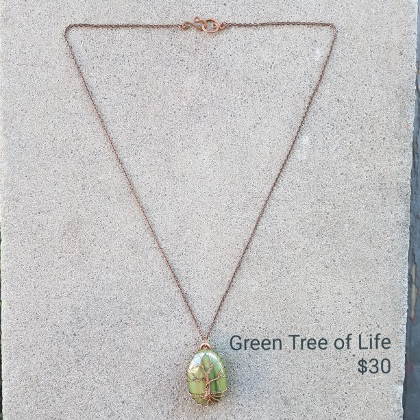 Borderless Tree of life in green