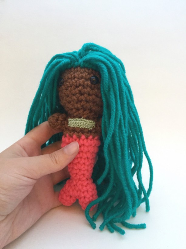 Handmade Crochet Amigurumi Mermaid Doll Aftcra
