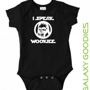 I Speak Wookiee - Chewbacca Star Wars Baby Onesie
