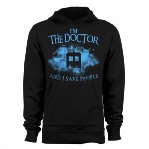 "Doctor Who ""I Save People"" Hoodie"