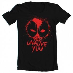 "Boys' Deadpool Inspired ""I'll Unalive You"" Tee"
