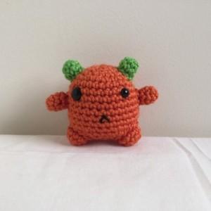amigurumi monster, crochet monster, monster toy, stuffed monster, under 15, monsters, plush monster, monster plushie, kawaii, mini amigurumi