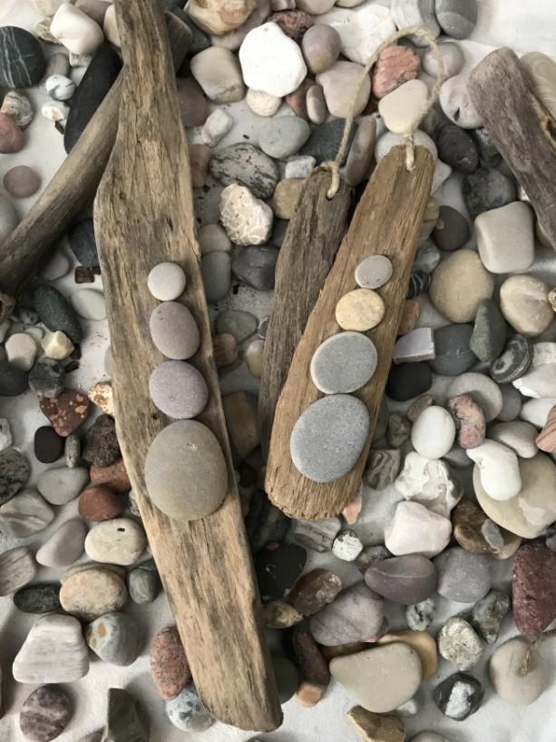 Peaceful Stones 2-pc Wall Decor