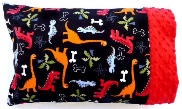 Toddler Child Minky Pillowcase Travel Size Pillow