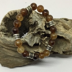 Jade bracelet, natural jade beads, brown jade bracelet, earth day bracelet, unisex bracelet, Jade bracelet