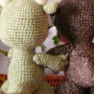 Amigurumi Baby Dragon Crochet Plush