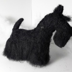 Felted Wool Scottish Terrier