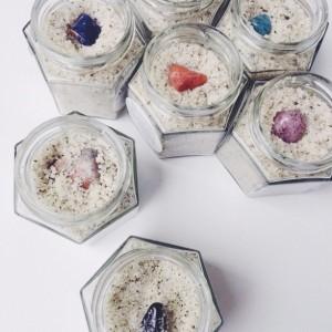 SURRENDER *Mystery Crystal* Lavender Jasmine Body Scrub
