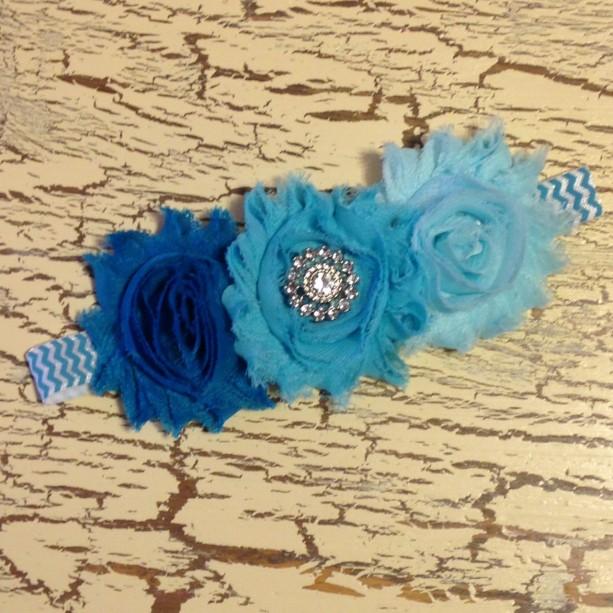 infant headband, shabby flower headband, baby headband, photo prop, baby shower gift, lace headband, newborn photos, infant photos