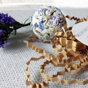 Gray Burlap Favor Gift, Wildflower Seed Bombs, Gardening Gift, Ecological Gift, Hostess Gift, Gift for Mom