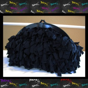 Fringe Clutch,upcycle bag,evening bag,custom made bag,black clutch,Purse,handbag