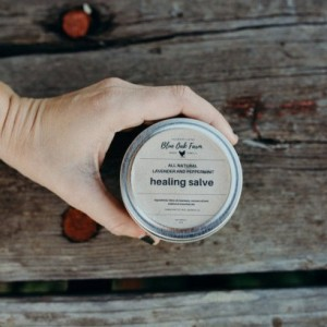 Lavender and Peppermint Moisturizing Salve