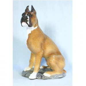 Boxer Dog Figurine Collectible