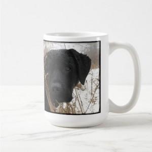 Black Lab Mug 1LSH- Labrador Mug - Black Lab Gifts - Labrador Gifts - Lab Dog - Lab Mom - Labrador Retriever - Black Dog Art - Black Lab Art