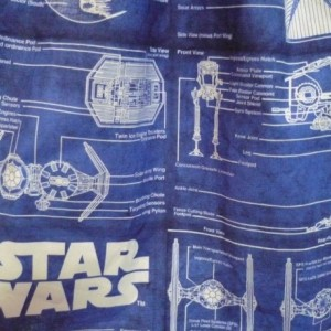 Star Wars Blueprint Necktie