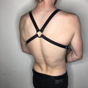 "X Back w/ Belting Chest Strap 3/4"""