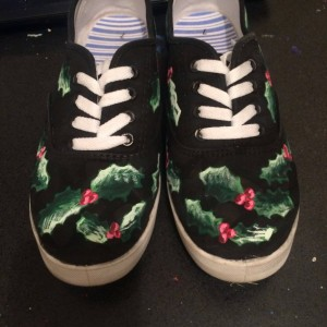 Christmas Holly Shoes